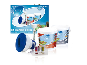 Kit para piscina de 15 a 30 m3 08732 kits de producto for Liner piscine transparent
