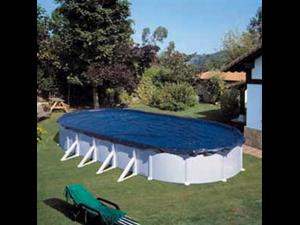 Ciprov911 couvertures de hiver piscine paroi acier for Liner piscine transparent